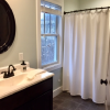 Lovely bathroom with plenty of room.  Located just off the masterbedroom.